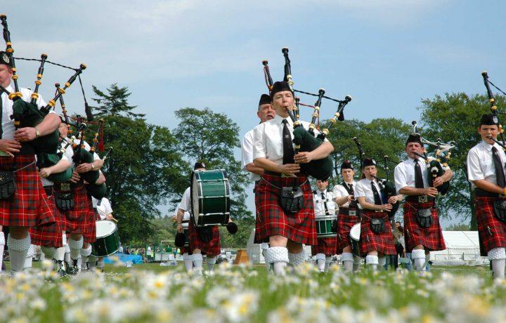 Škotska, dežela pogumnih ljudi