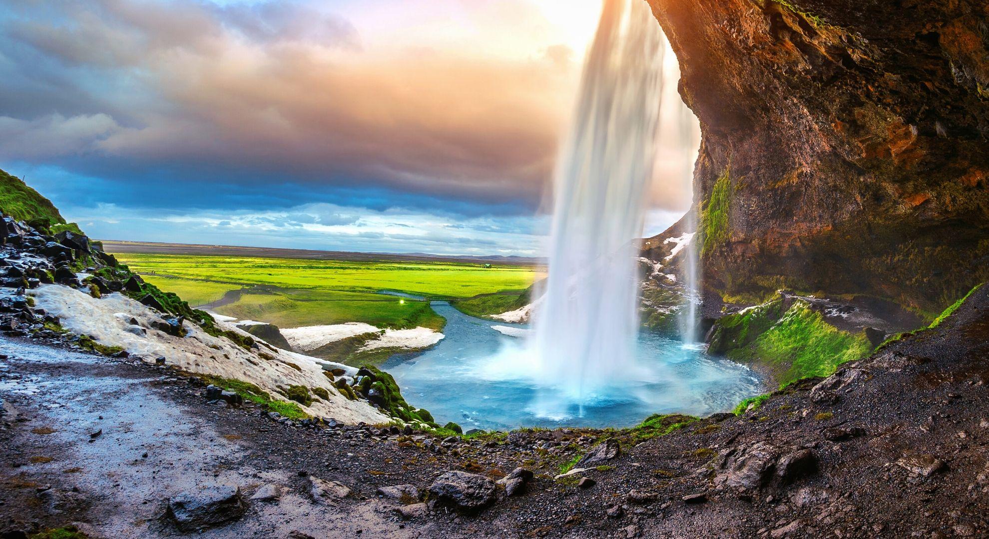 Islandija geološki fenomen Kompas