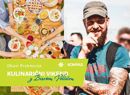 OKUSI PREKMURJA 3 dni - Kulinarični vikend z Binetom Volčičem