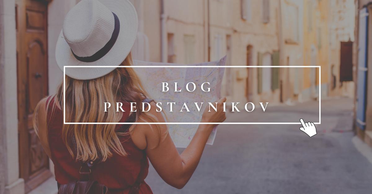 Blog predstavnikov
