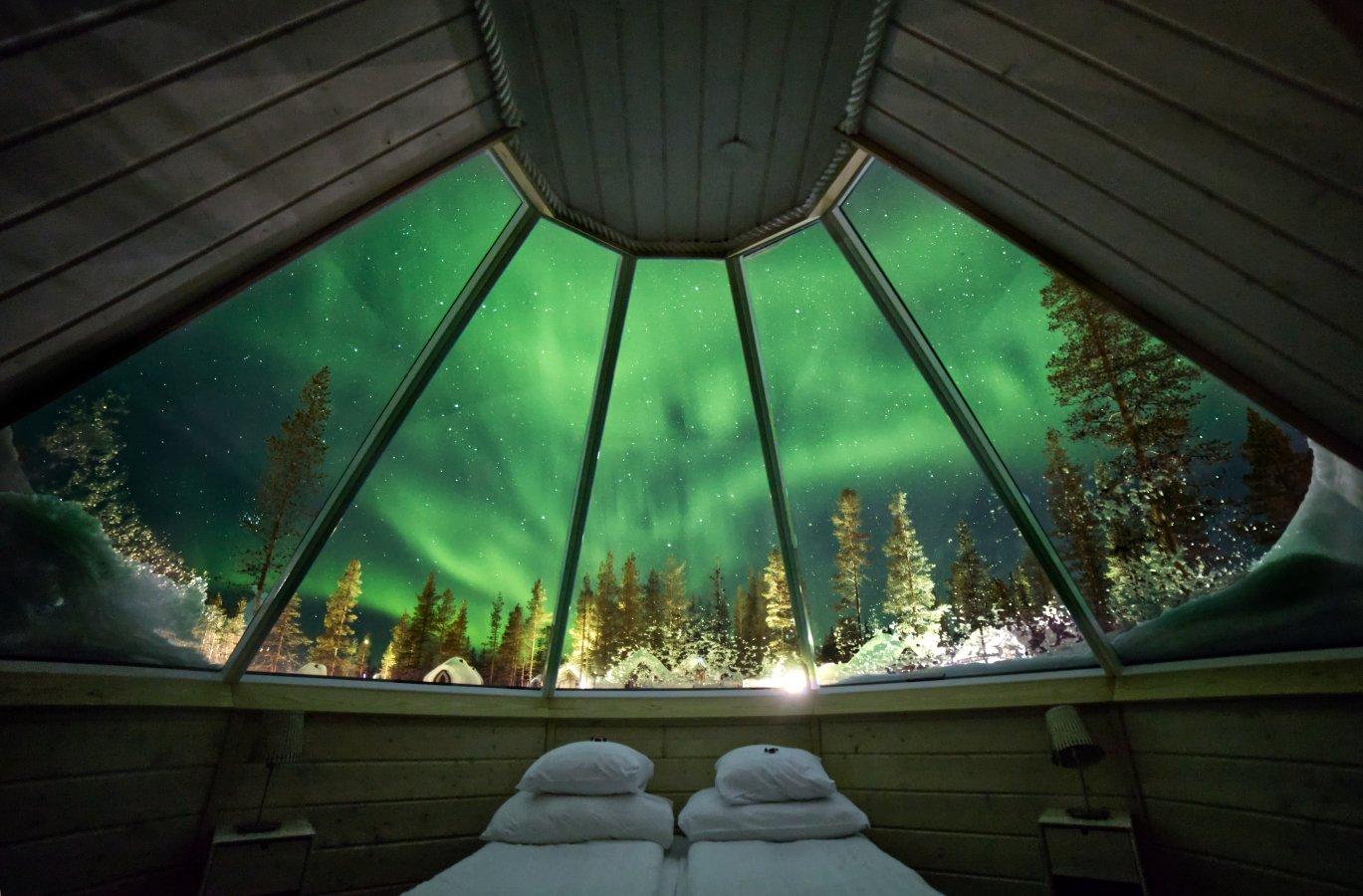 Pravljična Laponska - v objemu Aurore Borealis