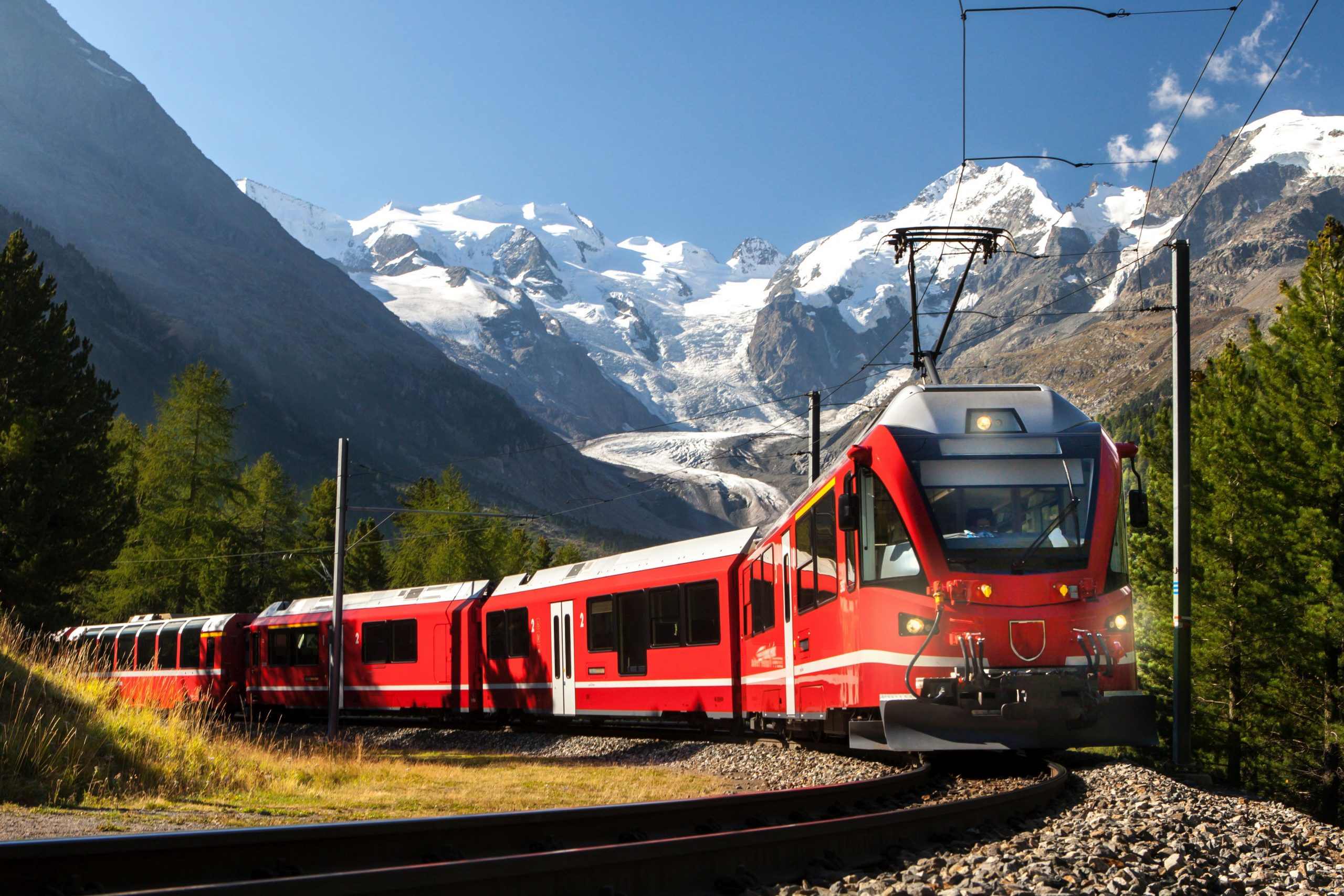 Z vlakom Bernina Express iz Švice v Italijo 3 dni