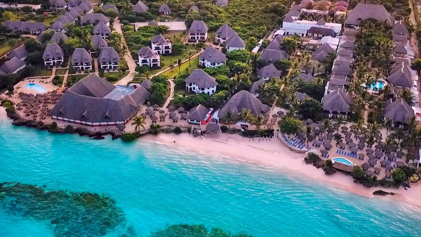 MY BLUE Hotel, soba 1/2 Standard, Pogled na park, ALL-IN, Zanzibar - čarter iz Ljubljane