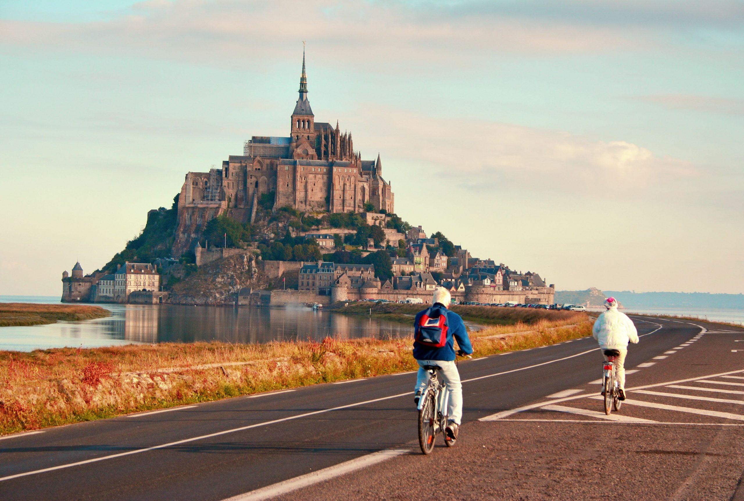 Normandija s kolesom 4 dni