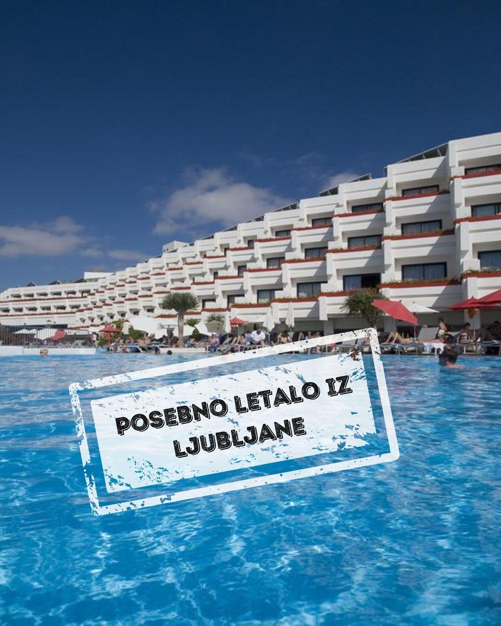 Hotel GALA 4* -  soba 1/2 Standard POL, Tenerife - posebno letalo iz Ljubljane