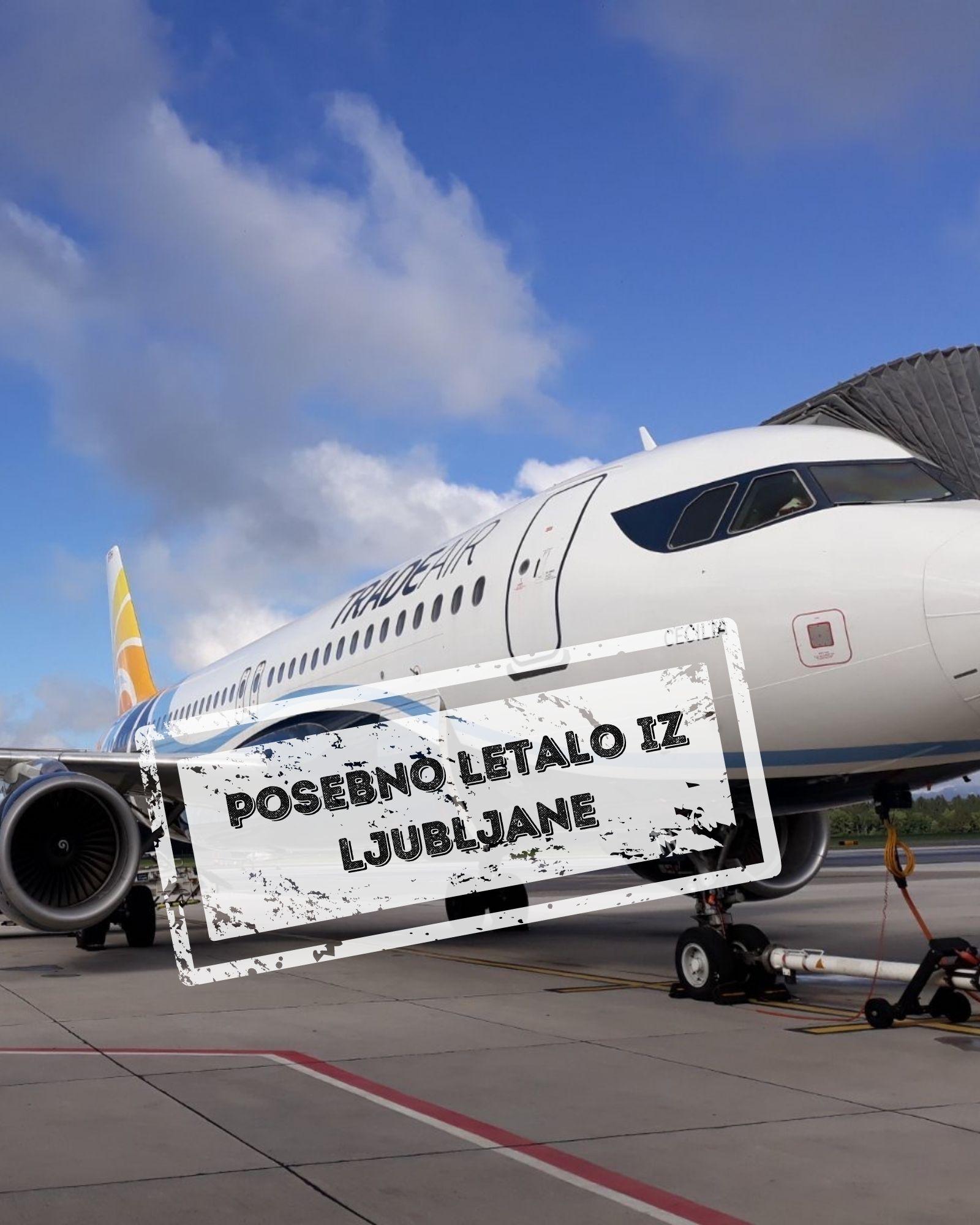 Tenerife - posebno letalo iz Ljubljane - samo let 7 dni