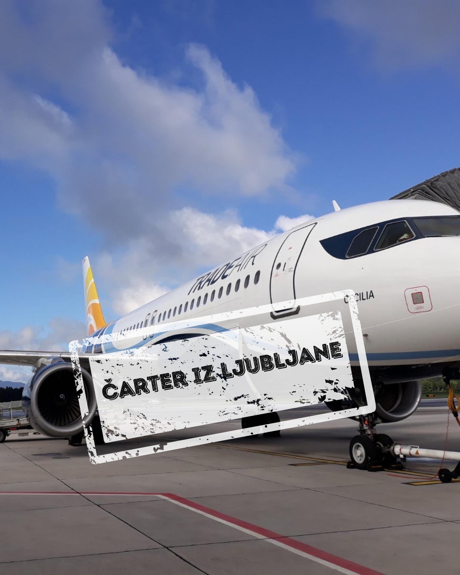 Tenerife - čarter iz Ljubljane - samo let 7 dni