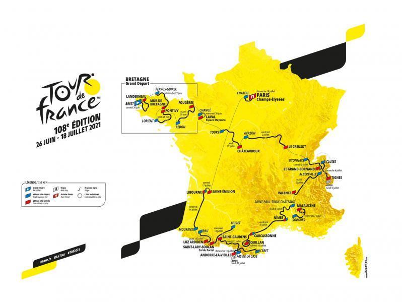 TOUR DE FRANCE 2021, APP 4* 1/2+2, 3 OSEBE V APARTMAJU, NAVIJAŠKI KOLESARSKI BUS V FRANCOSKE ALPE