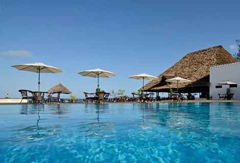 Hotel AMAAN BEACH BUNGALOW 3*, std 1/2+1 pool, NZ,  Zanzibar -  čarter iz Ljubljane