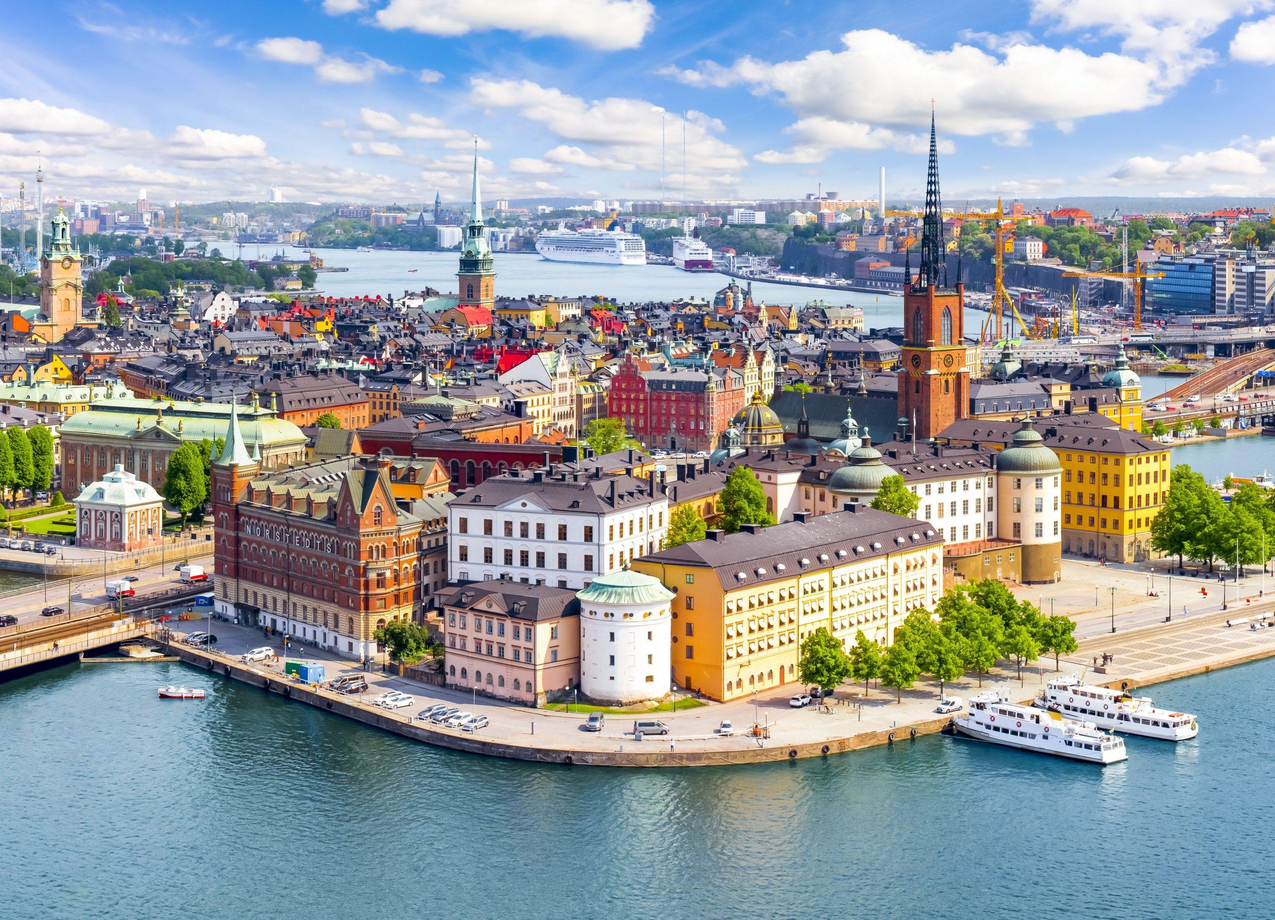 Skandinavske prestolnice