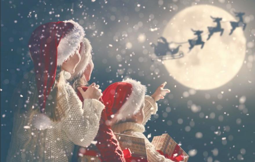 K Božičku v goste Božiček Direktni let iz Ljubljane