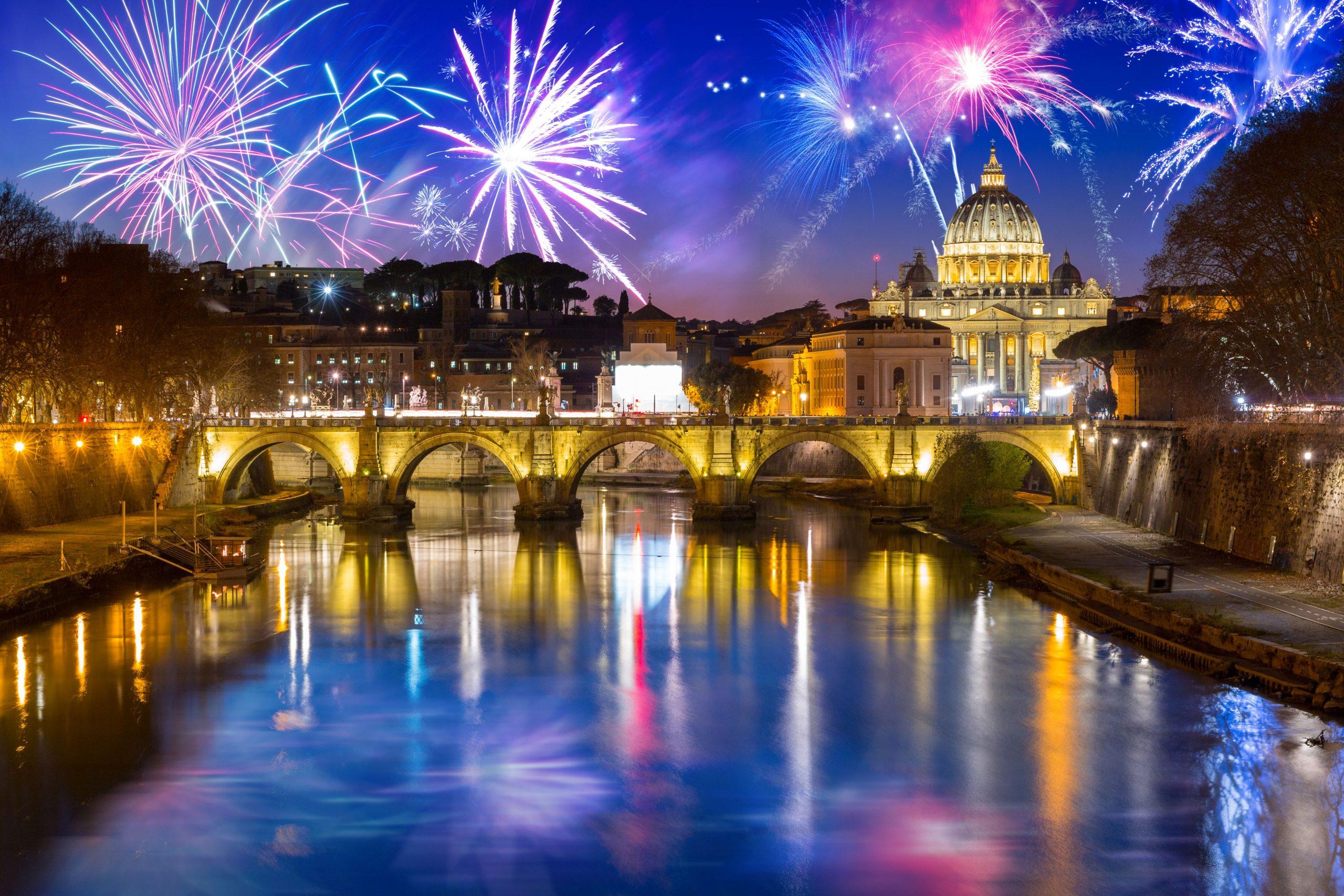 Novoletni Rim z avtobusom 4 dni